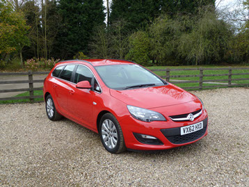 The Astra Tech Line Sports Tourer is good looking and drives well; it's economical on fuel too.