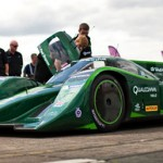 Electric vehicle land speed record