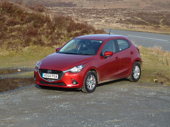 Contemporary design incorporating the latest Mazda family 'look' epitomises the new Mazda2.