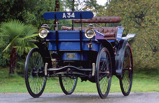 Number plates have changed out of all recognition since this 1895 Peugeot Type 9 took to the road. Dave Moss's authoritative book on the subject explains all.