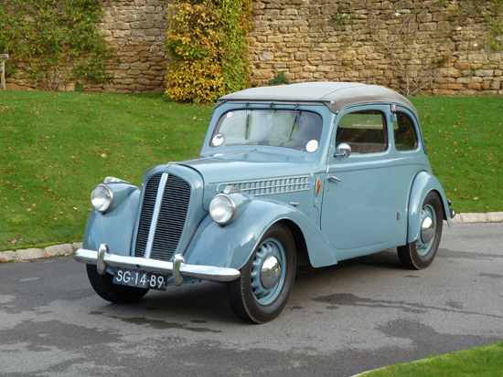 One of the 'static' classic Skoda exhibits on display at the recent U.K. launch of the Rapid Spaceback was this attractive 1940 Popular drophead, powered by a 1089cc overhead valve engine. To me, this is a VERY attractive classic.
