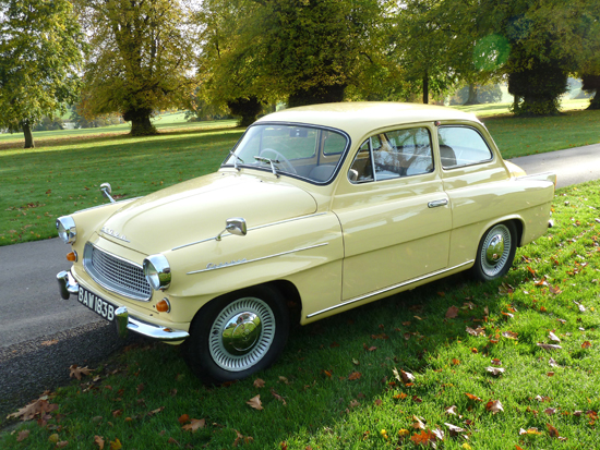 The first classic Skoda I had the privilege of driving was this fastidiously maintained 1964 Octavia Super.
