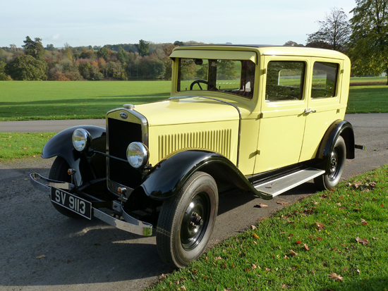 A charming four door, four seater saloon, the 1929 422 was 'state of the art' in its time.