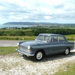 Isle Of Wight excursion in an Austin A60 Cambridge