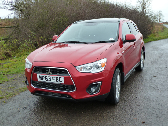 The crisply styled front end of Mitsubishi's latest ASX.