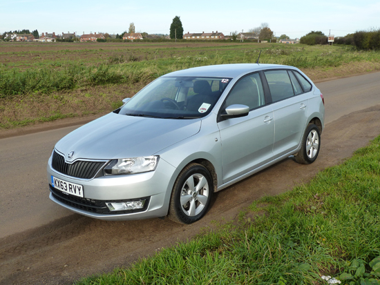 Refreshing, neat styling is a hallmark of the new Skoda Rapid Spaceback