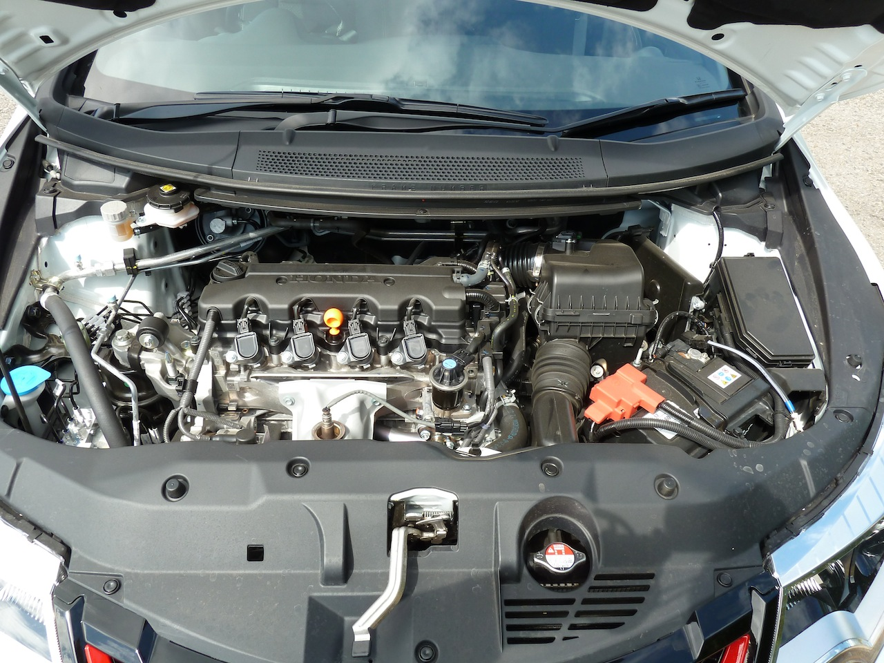 Willing, refined, and eager to perform – Honda's sophisticated four cylinder 1.8 litre petrol engine.