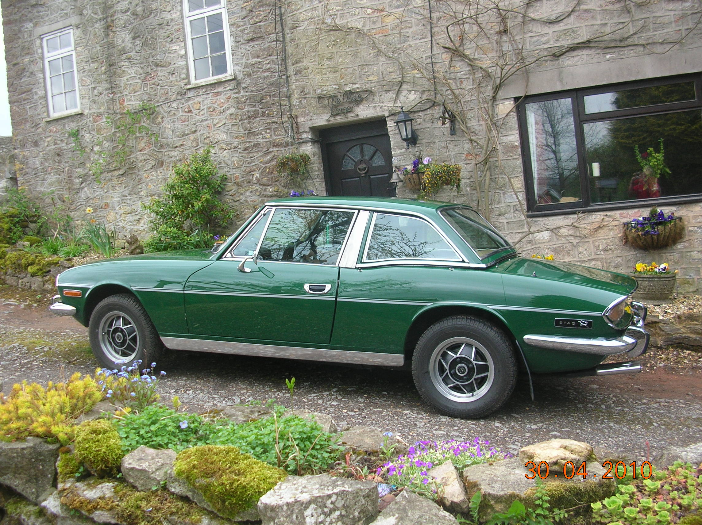 With hardtop fitted, a Stag still looks the part but truly becomes an 'all weather' classic.