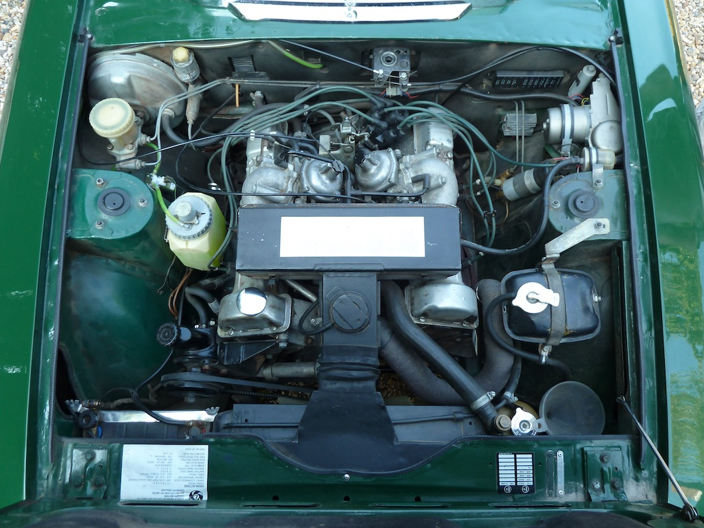 The V8 engine used in the Stag was unique to the model. Diligent, sympathetic attention is key to reliable operation.