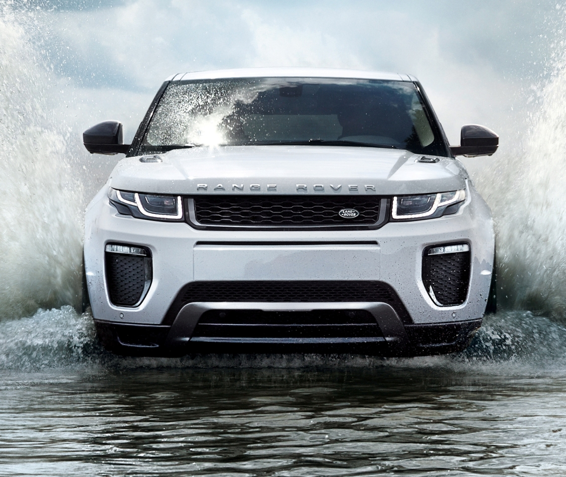 Range Rover 2016 Evoque front action