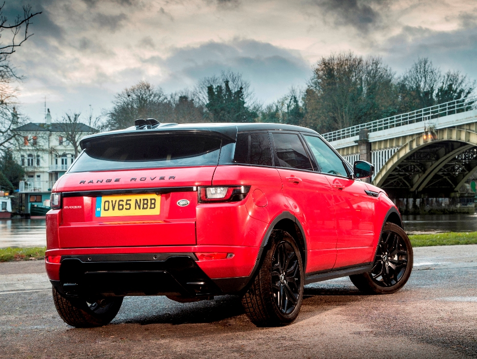 Range Rover 2016 Evoque rear side static