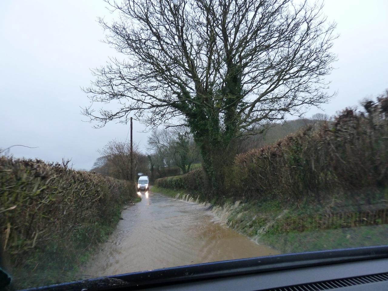 Floaded roads KH 1