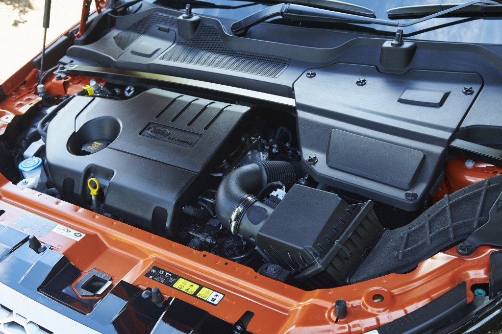 Land Rover Discovery Sport 2016 Ingenium turbodiesel engine