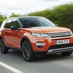 Land Rover Discovery Sport – with Jaguar Land Rover's own Ingenium engines.