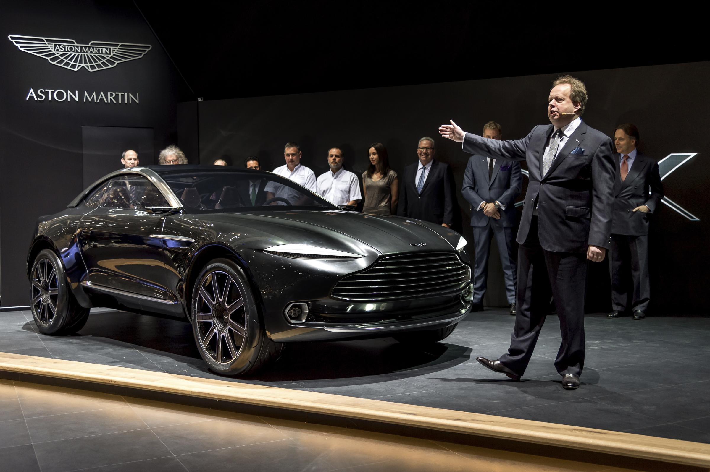 Aston Martin DBX Concept unveiled at the 2015 Geneva Motor Show...