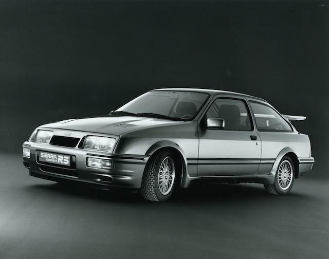 Ford Sierra RS 1985 Geneva Show pack