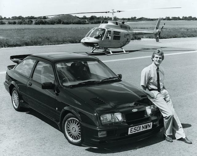 Jonathan Palmer with an RS500 in 1987