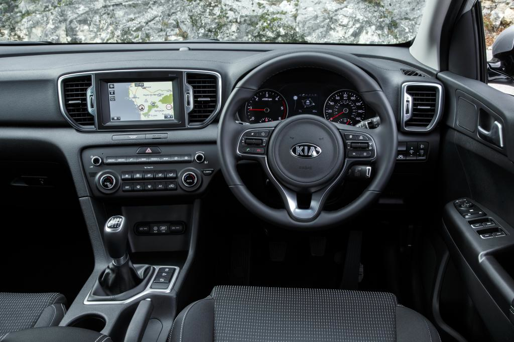 KIA new Sportage cockpit