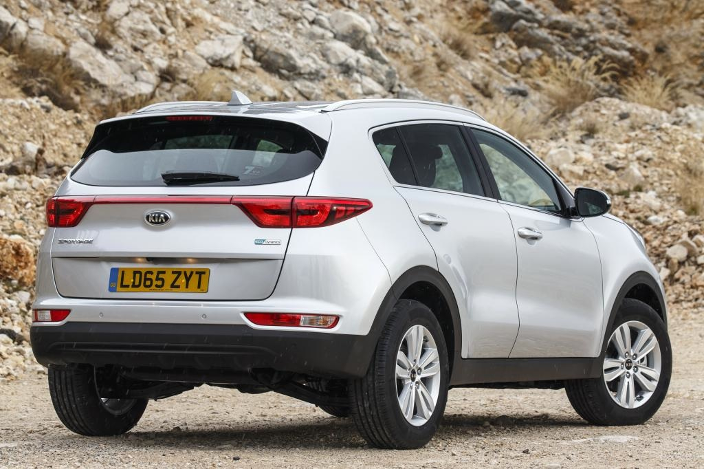 KIA new Sportage rear