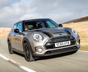 Mini New Clubman front action 1