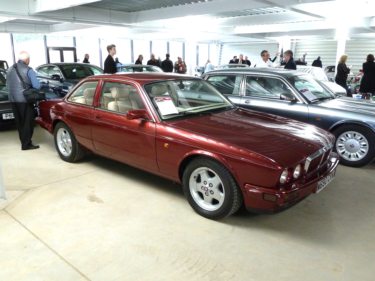 A great-looking 1994 Jaguar XJ40 V12 fixed head two seater concept car, in the Collections Centre.