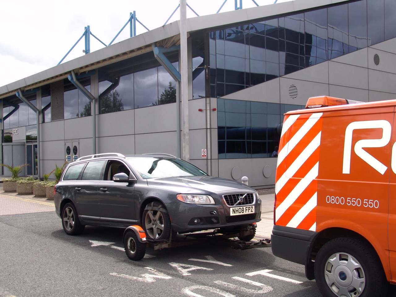 The 'Rapid Deployable Trailer' has transformed the way in which RAC patrols work, enabling vehicles to be recovered by a patrol if they can't be fixed at the roadside.
