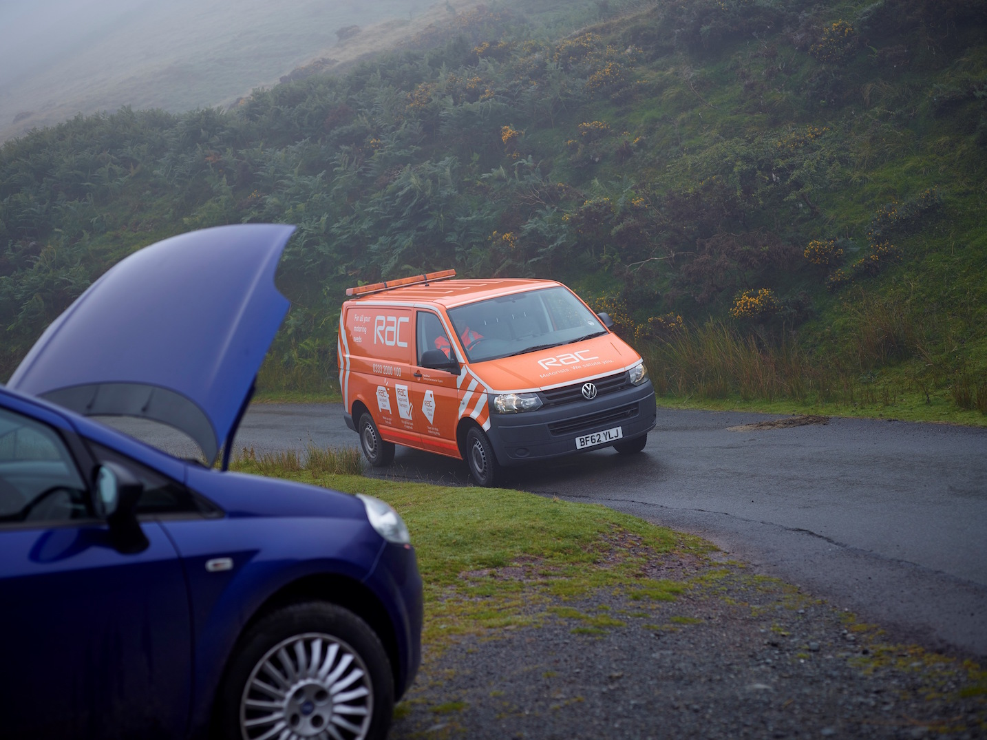 The unmistakable sight of an RAC patrol van can cheer any motorist with an ailing car (especially in remote areas!); the service is available 24 hours a day, all year round.