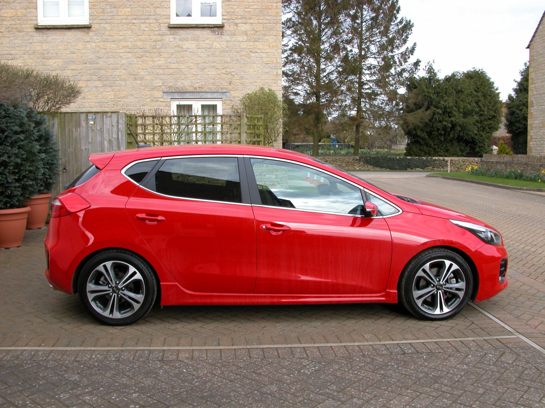Kia's new Cee'd five door hatch with new GT-Line spec