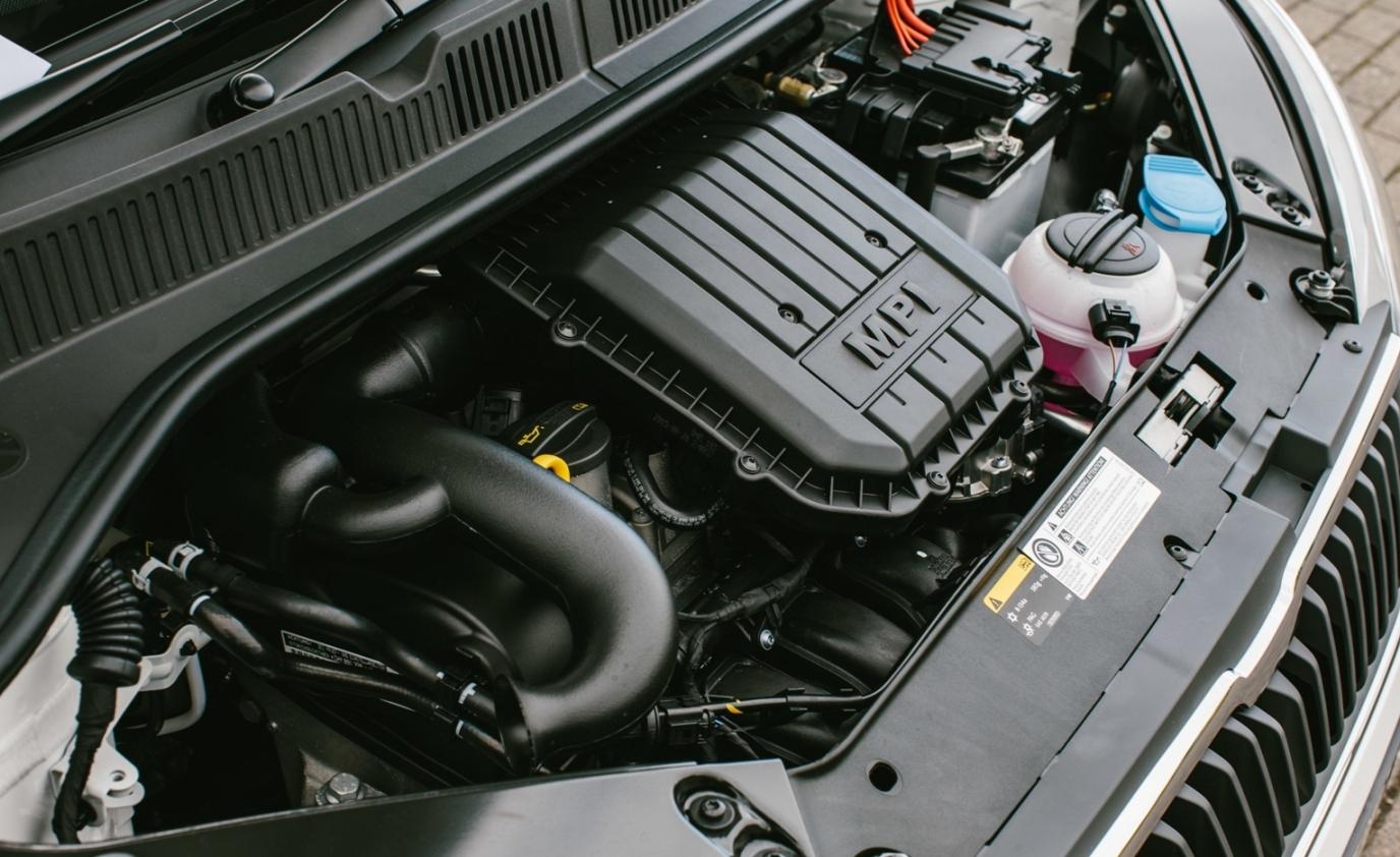 Skoda Citigo Black 1.0-litre 3-cylinder petrol engine