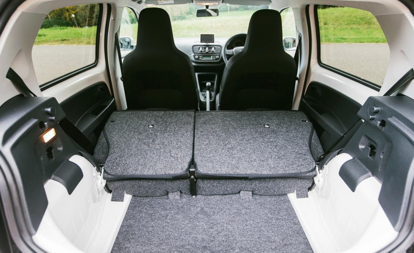 Skoda Citigo Black 5-door edition load area