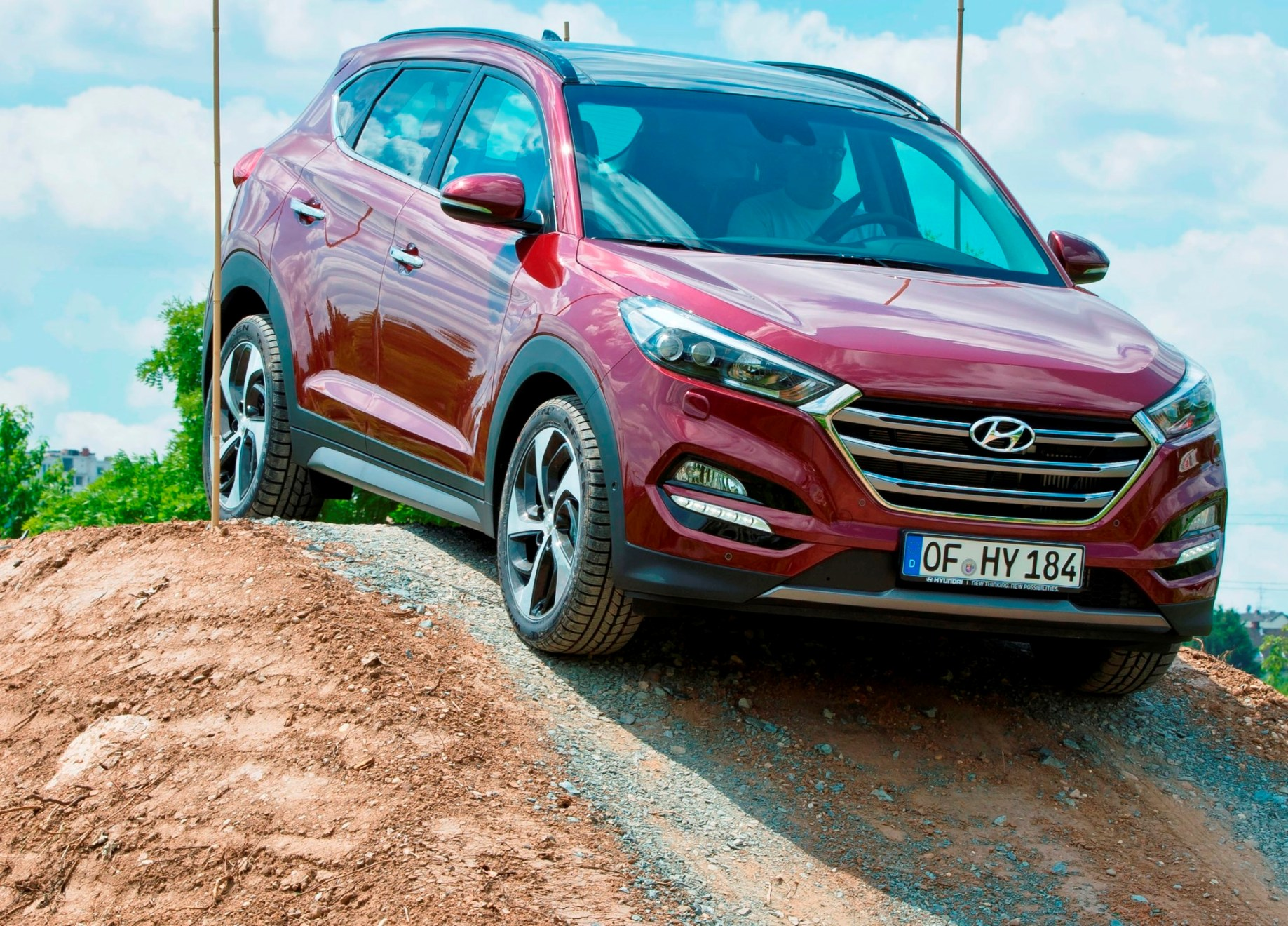 All-New Tucson off road action