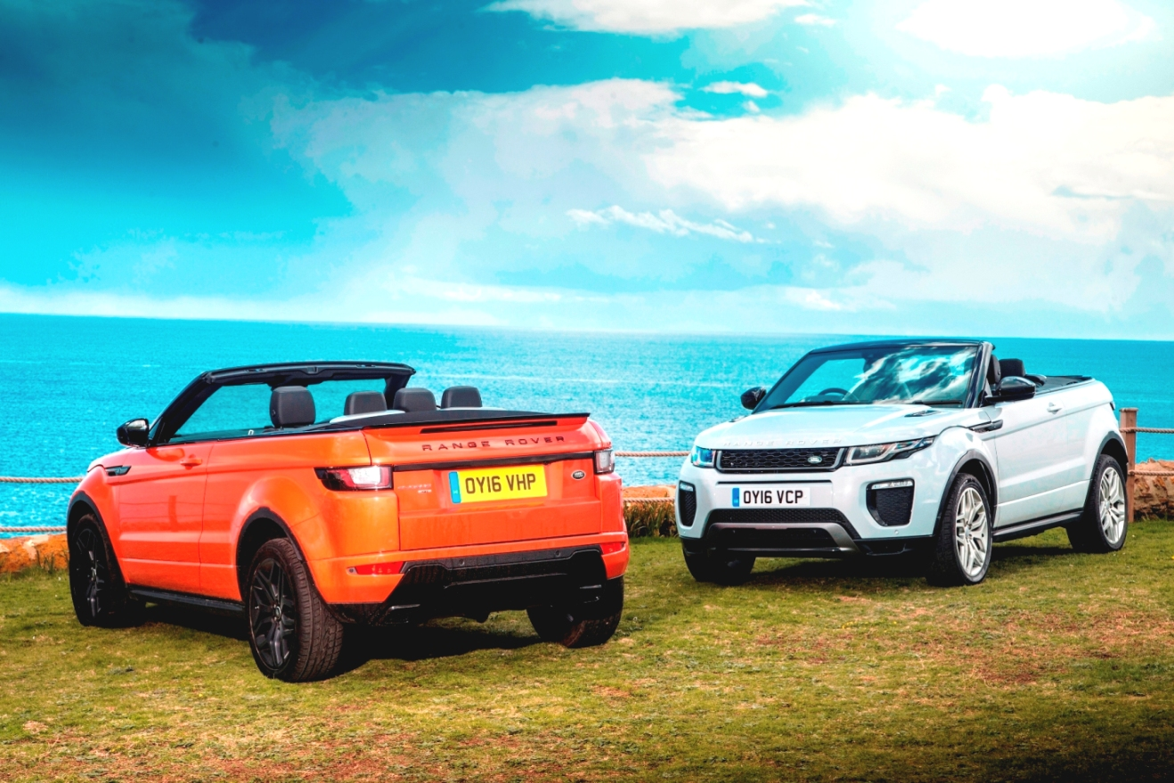 Range Rover Evoque Convertible dual view