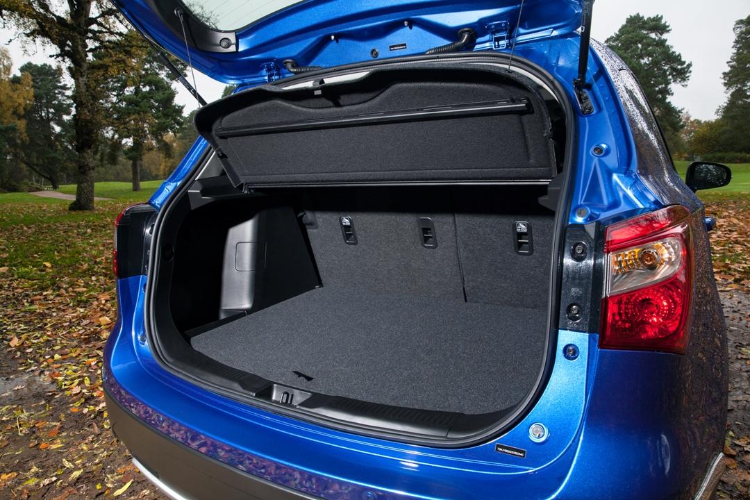 Suzuki S-Cross boot area