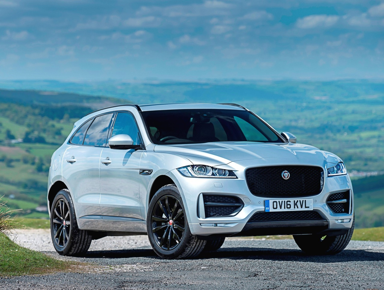 Jaguar F-Pace side front static copy