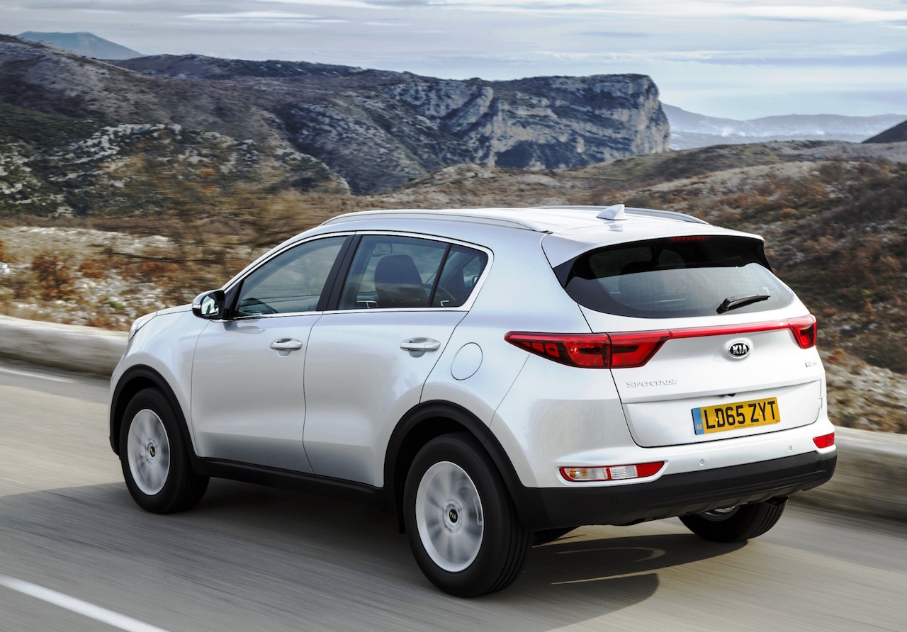 Kia Sportage 1.7 CRDi side rear action copy