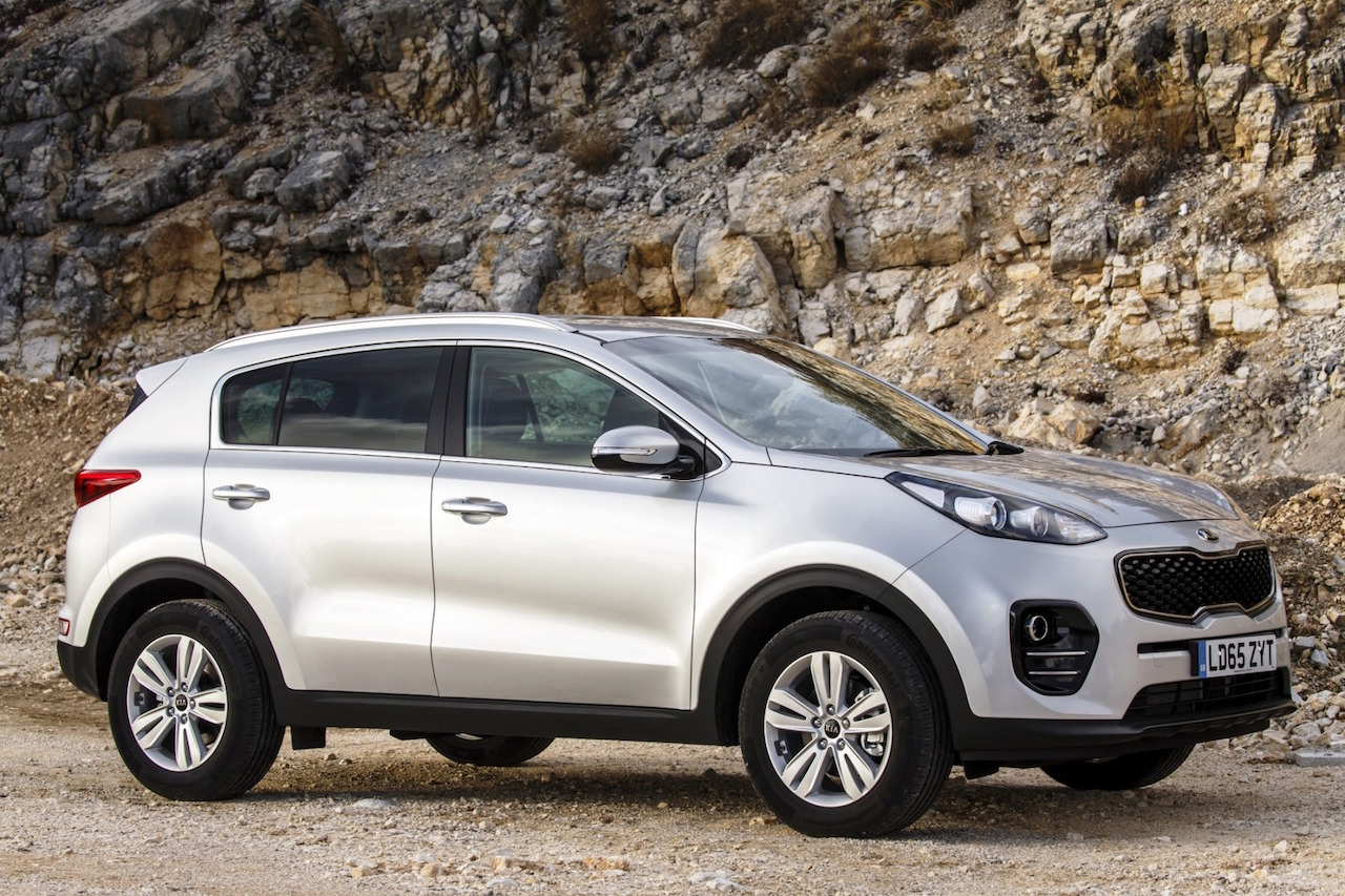 Kia Sportage 1.7 CRDi static side view copy