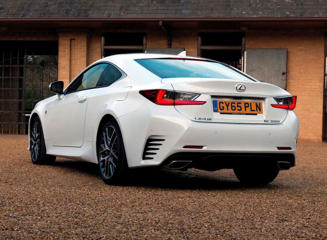 Lexus RC 200t rear view copy