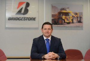 Stuart Jackson of Bridgestone UK. Picture by Sam Bagnall