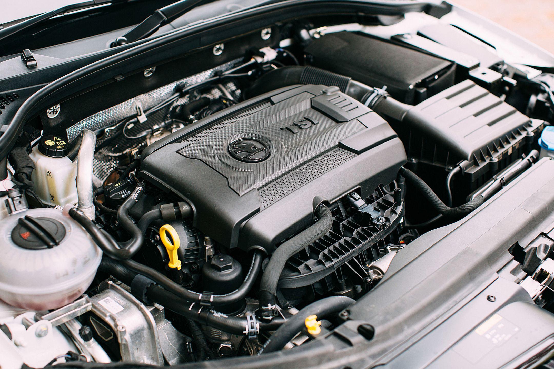 Skoda Octavia vRS new 230hp TSI petrol engine