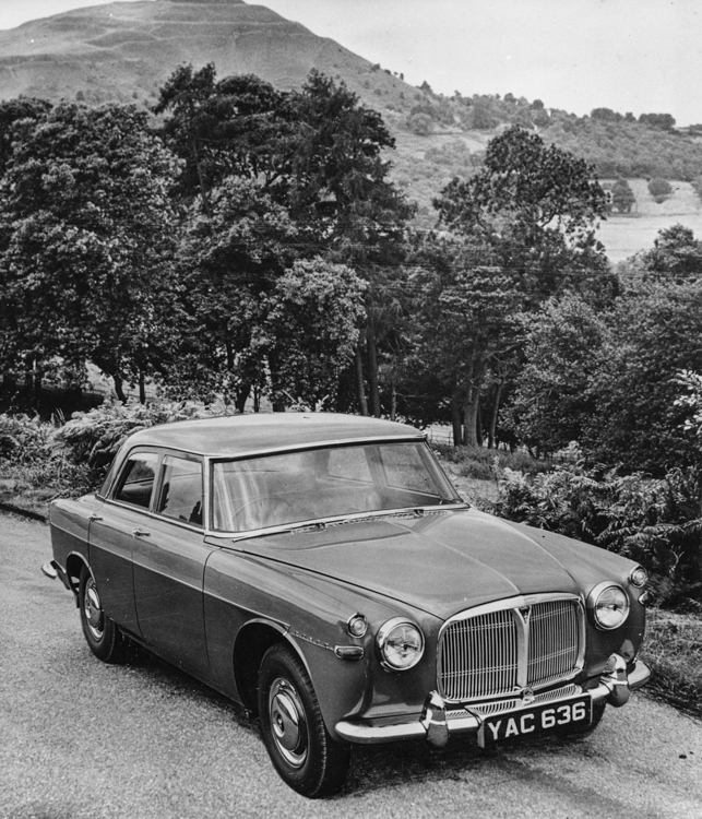 Rover P5, 3 litre, Mark I (1958-1962). (Photo courtesy Virtual Motorpix).