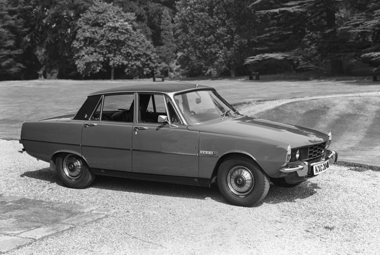 Rover P6 3500 S, (1973). (Photo courtesy Virtual Motorpix).