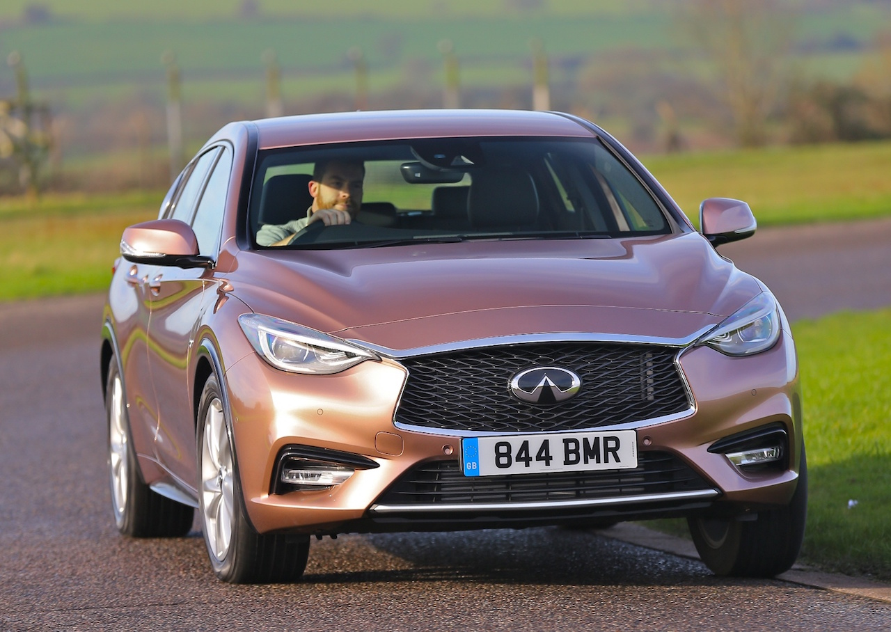 Infiniti Q30 4WD front action copy