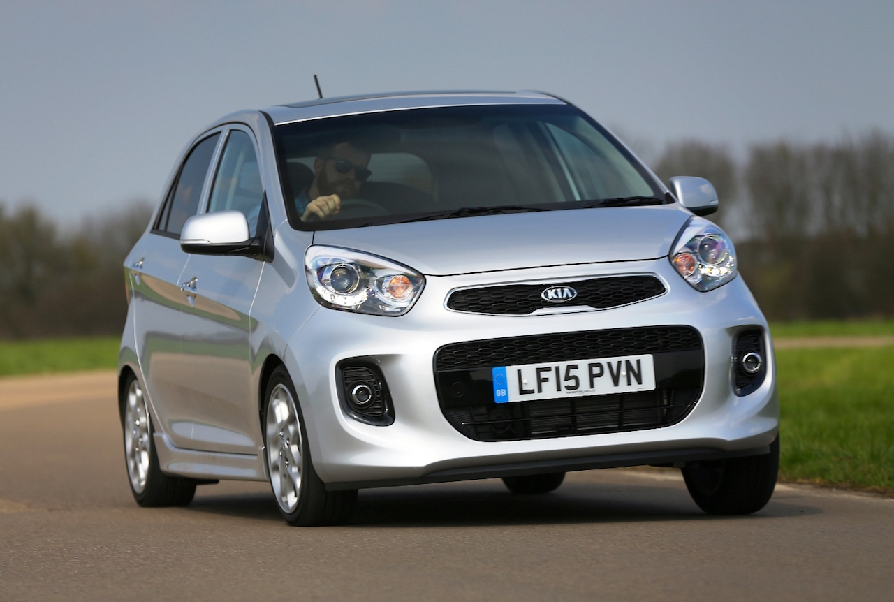 New Kia Picanto '4' front action copy
