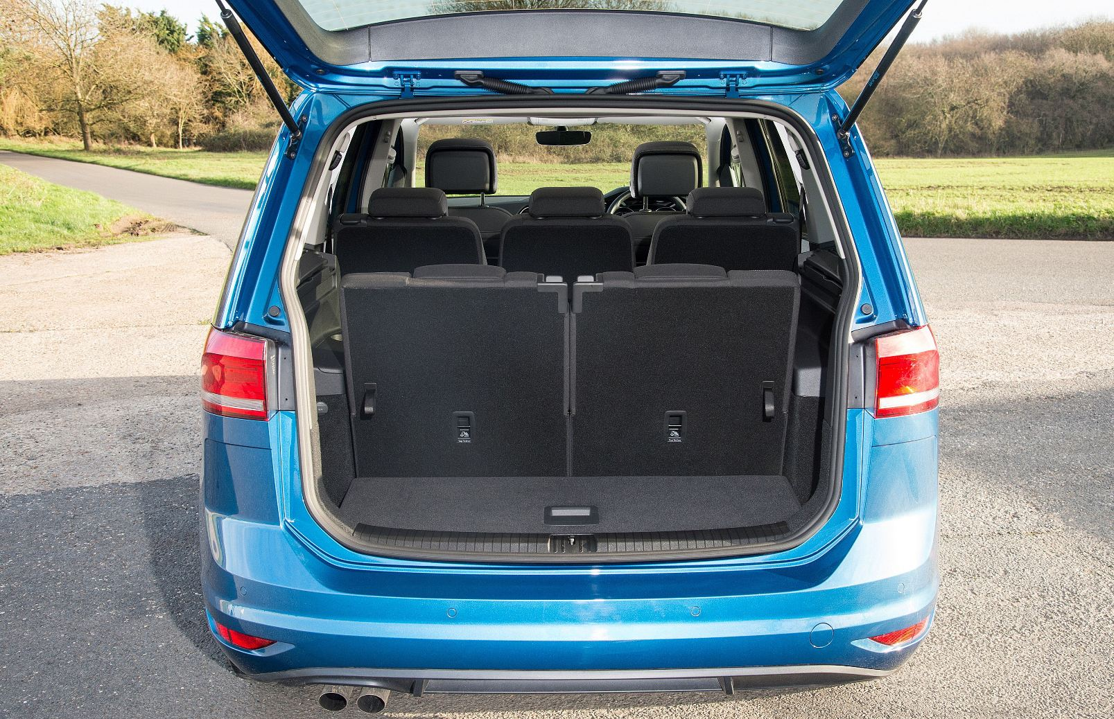 VW Touran MPV with 7 seats as standard