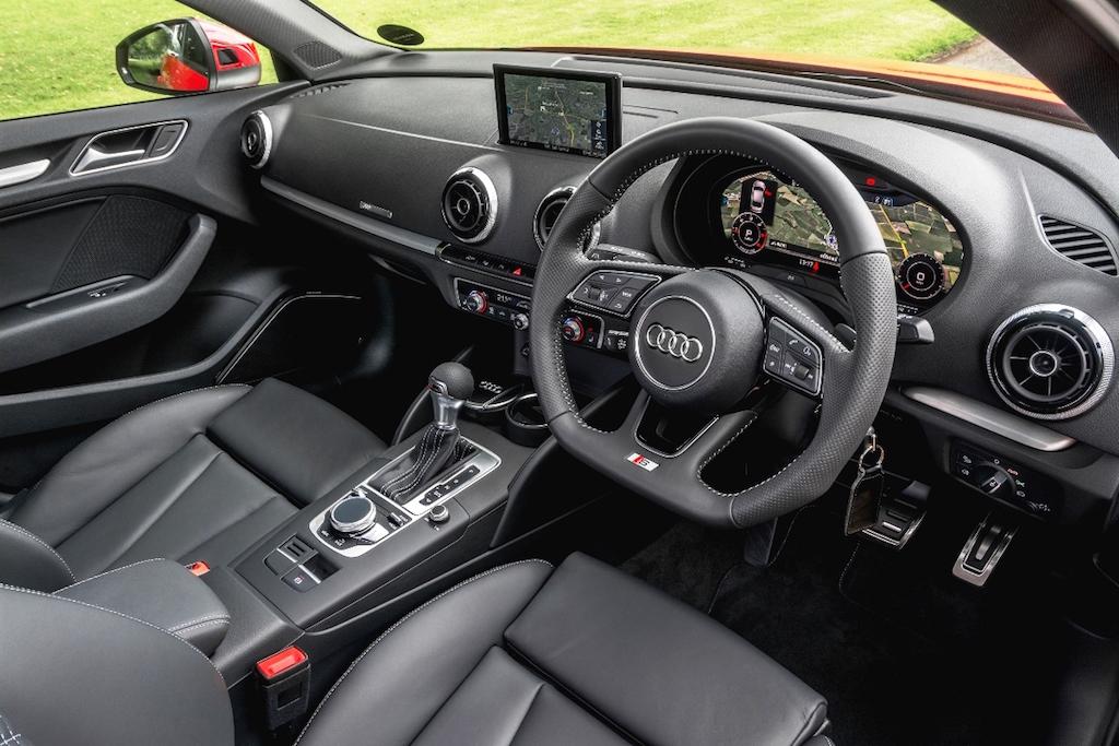 Audi A3 Sportback S line front interior copy