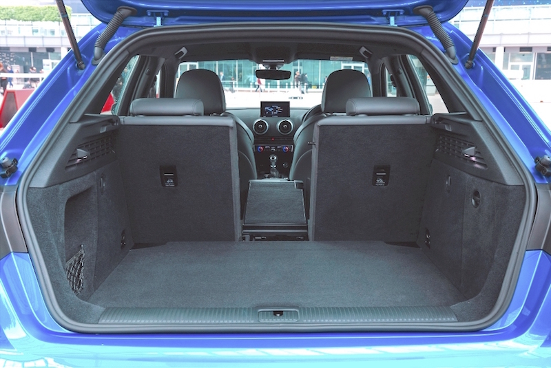 Audi A3 Sportback load area copy