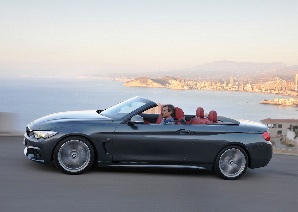 BMW 4 Series Convertible side action copy