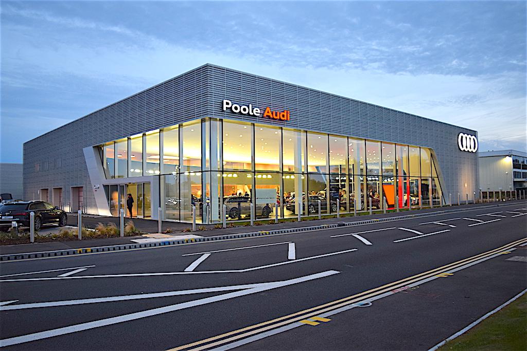 Poole Audi Heading shot