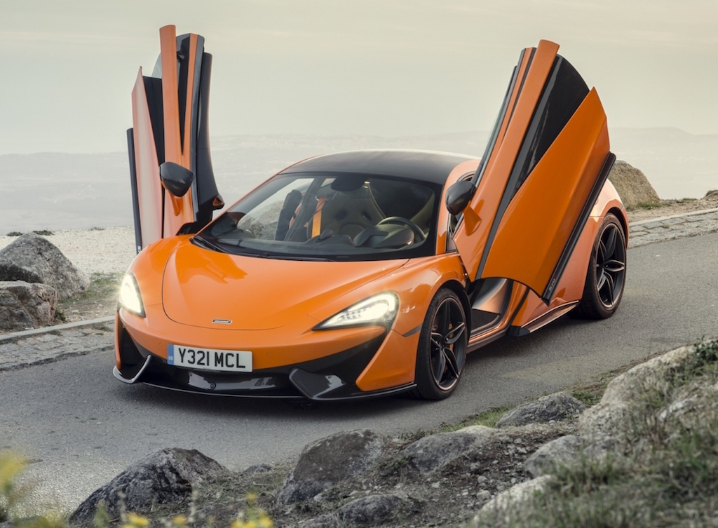 McLaren 570S Coupe Doors open copy