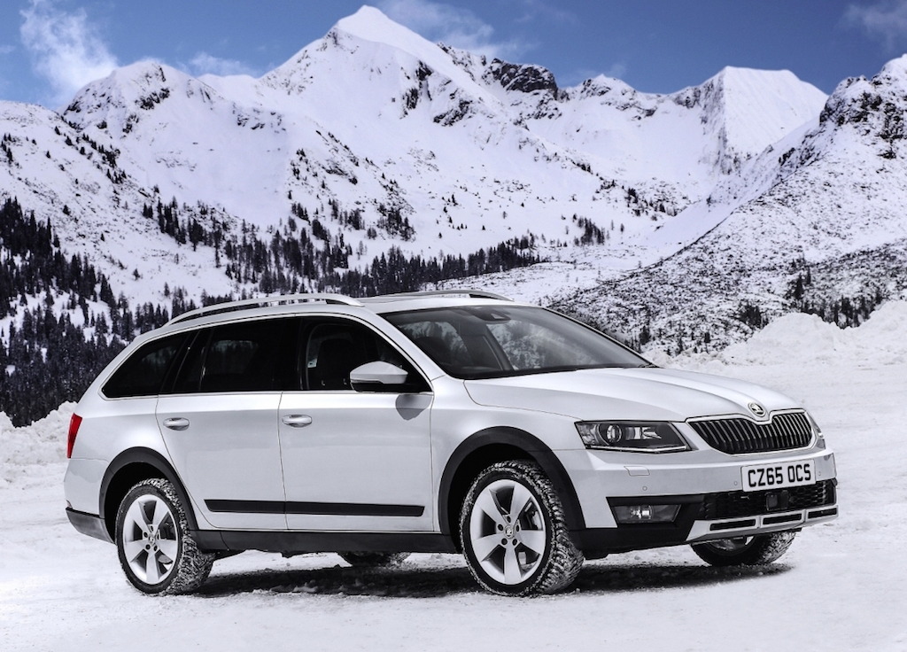 Skoda Octavia Scout 4x4 Estate - all weather grip